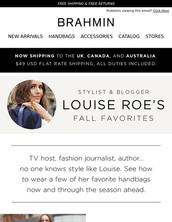 Get Styled For Fall By Louise Roe