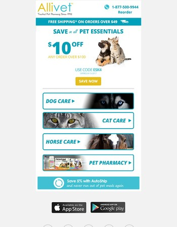 Save on Your Pet Essentials