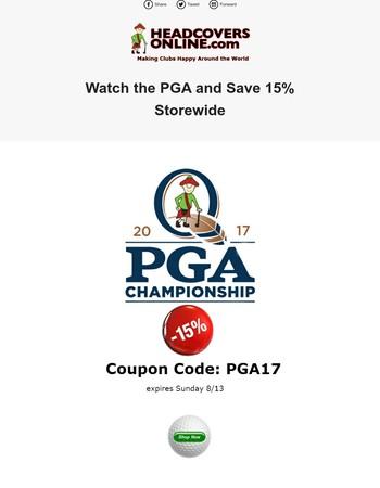 Enjoy the 2017 PGA Championship