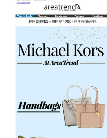 LIMITED TIME ONLY! Save Up To 80%  On All Your Michael Kors Favorites.