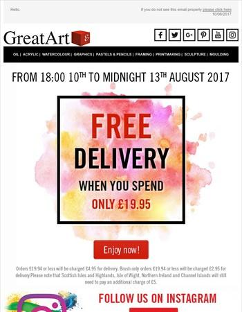 GreatArt UK Newsletter