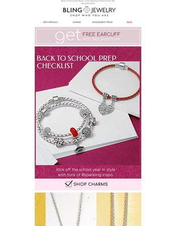Back to School with Bling Jewelry