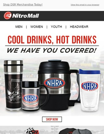 Drink Up Your Nitro Passion!