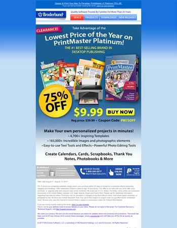 Happiness Is PrintMaster + $30 Savings