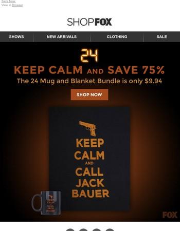 Keep Calm & Save 75%!