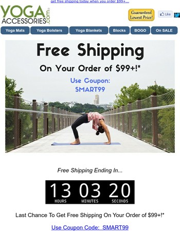 [Removing Tonight] Your Free Shipping Credit...