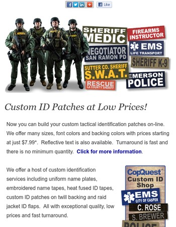 Fast turnaround and low prices on custom ID products