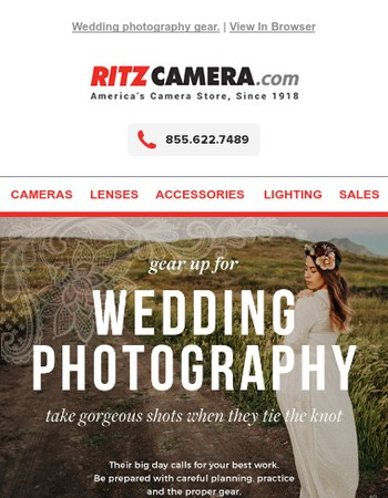 Are you ready to photograph a wedding?