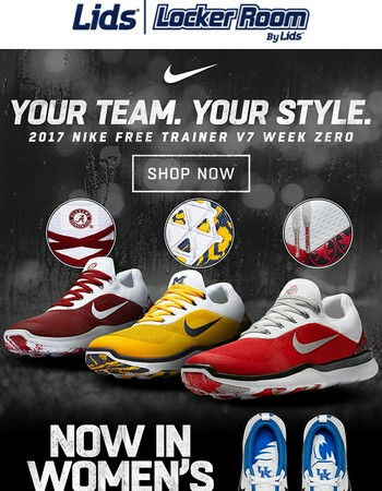 Your Team. Your Style. The 2017 NIKE NCAA Shoe Collection