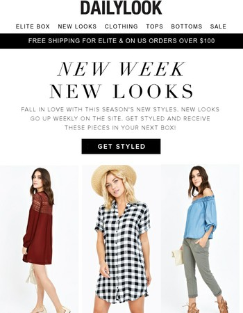 New Looks = New You