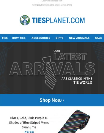 Ties Planet Newsletter