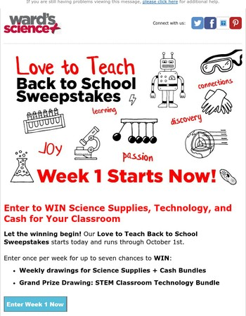 Mary, Week 1 Starts NOW! Enter to WIN!