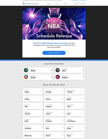 NBA Schedule Officially Released - Tickets Available Now!