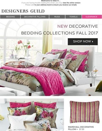 Decorative Bedding Collections | New Season Prints