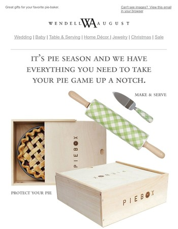 Easy as Pie! See Our NEW Pie Servers and Accessories
