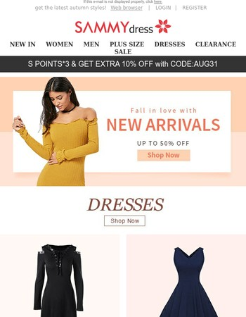 Find your new fashion look!