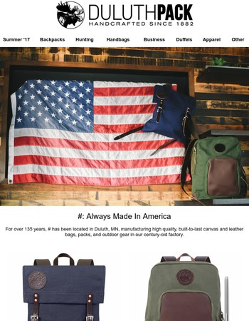Check out these USA-made products!