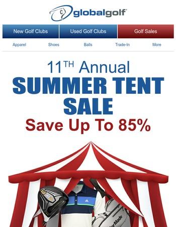 11th Annual Summer Tent Sale + Bargain Barrel Savings
