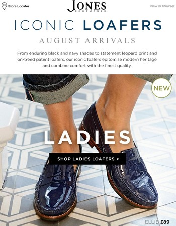 Iconic Loafers | August Arrivals