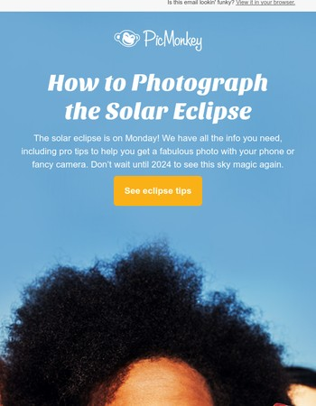How to get GORGEOUS solar eclipse pics
