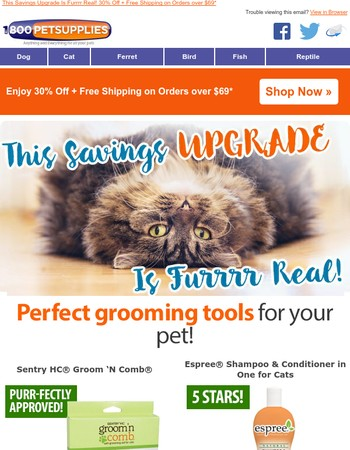 Who Wants a Pet-icure? Upgraded 30% Off + Free Shipping!