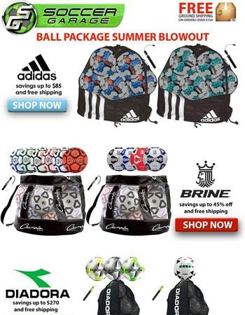 SOCCER BALL PACKAGE SALE | SOCCERGARAGE.COM