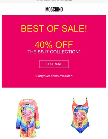 Best of Sale! Discover all the items not to miss