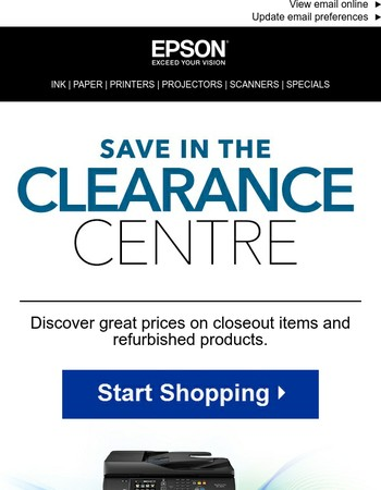 Shop the Clearance Centre for dozens of great deals