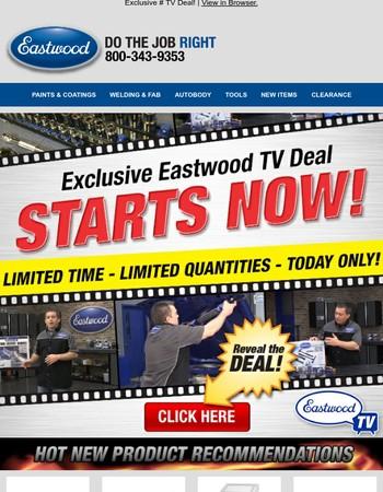 EXCLUSIVE Eastwood TV Deal