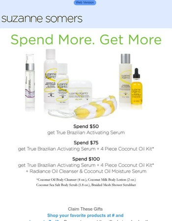 Ending at Midnight: One More Chance to Receive More than $200 in FREE Products