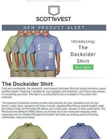 Introducing: The Docksider Shirt!