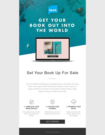 Selling Your Book is Easy with Blurb