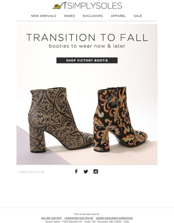 Falling For: Booties