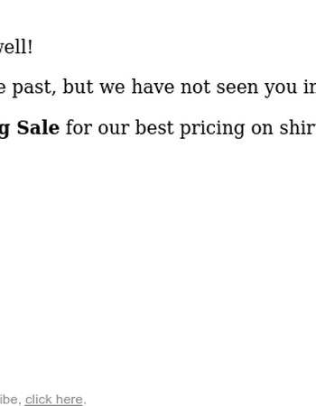 Our Best Price: Now is the time to try our shirts!