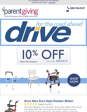Promote Independence With Great Produts From Drive Medical