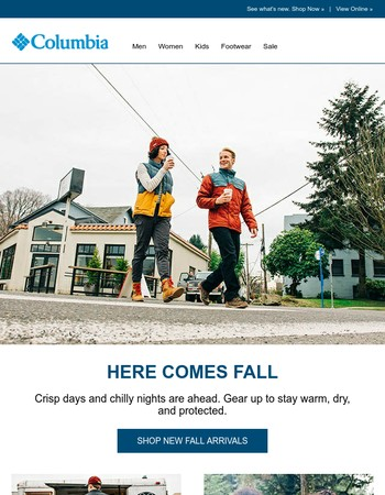 Fall is coming. Are you ready?