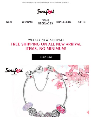 Hurry! 72 Hours Free Shipping + Weekly New Arrivals!