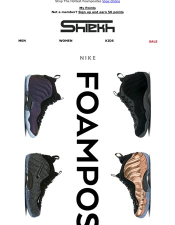 One for the Whole Family | Nike Foamposite