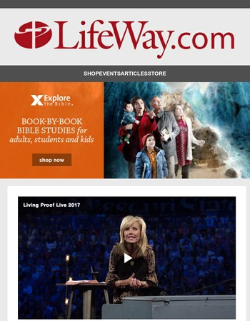 New Studies from Beth Moore and Priscilla Shirer