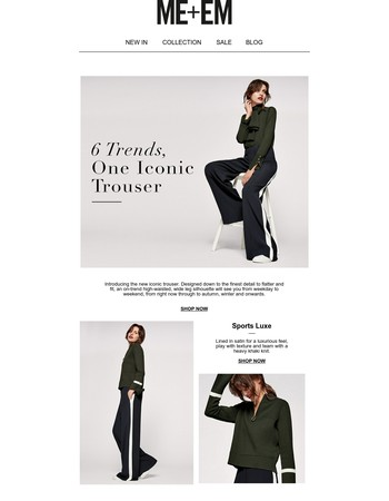 New Arrival I The Iconic Trouser