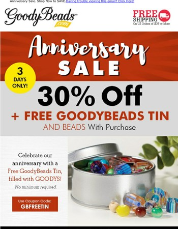 SITEWIDE 30% Off & Free Gift