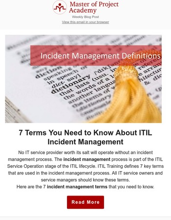 ITIL Incident Management: 7 Terms You Need to Know