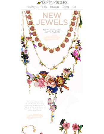 Just in: Dazzling New Jewels