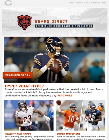 Bears Direct: Hype? What hype?