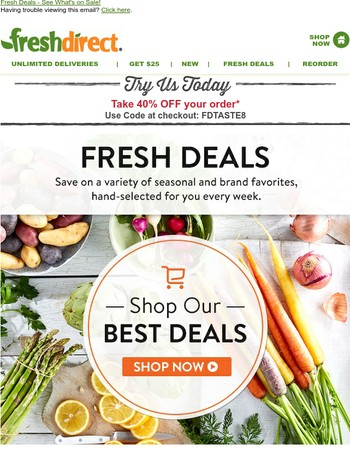 Check Out Your Weekly Deals