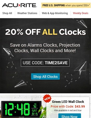 20% OFF - Back to School Sale!