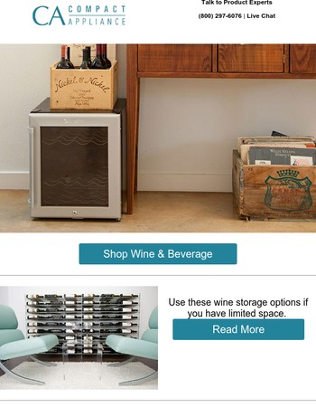 The Perfect Fit: Wine Storage Ideas for Small Spaces