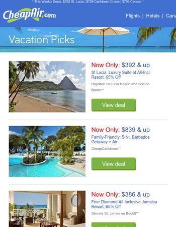 $392 // St Lucia: Luxury Suite at All-Incl. Resort, 65% Off