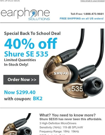 This deal is too cool for school.