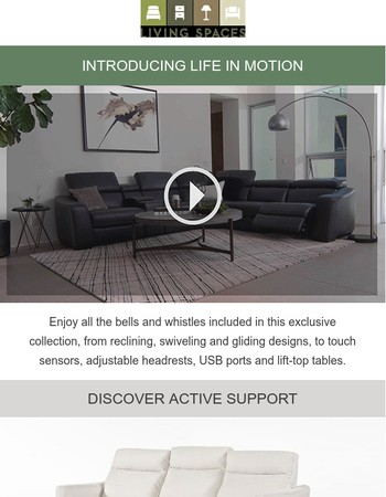 NEW | Life in Motion Collection
